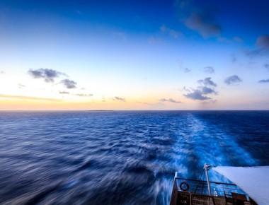 Rowing in the Atlantic ocean