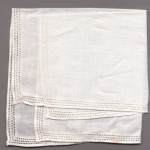 A soft linen handkerchief