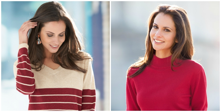 AW15 red sweaters