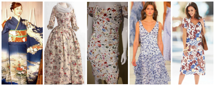 The history of floral fabrics
