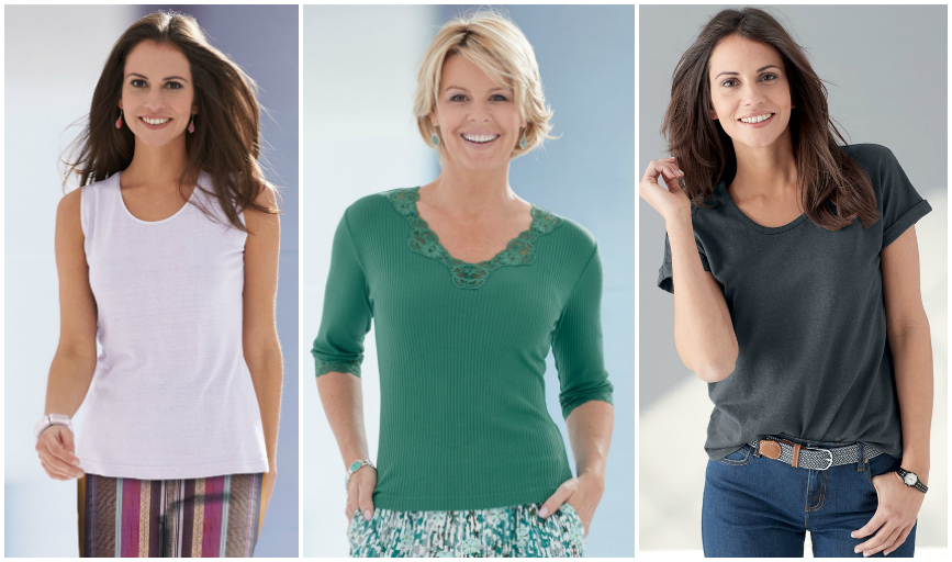 women's tops for walking and exercise