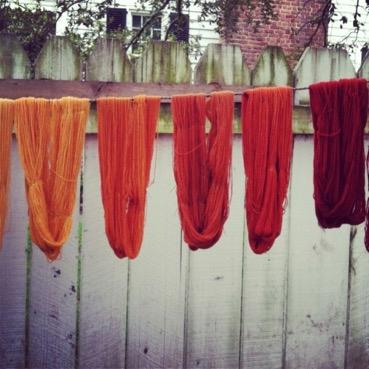 Patra dying fabrics
