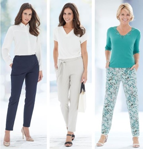 tapered trousers women's fashion