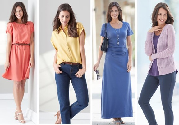 comfortable dresses, tops and blouses for spring and summer