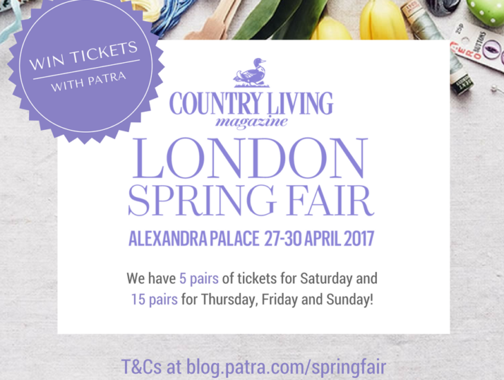 Win tickets to the Country Living Fair