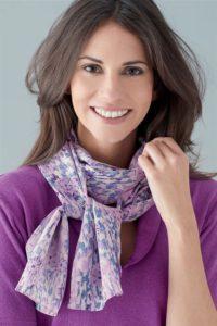 Pure silks scarves by Patra