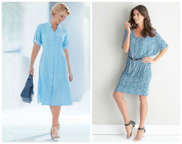Exclusive printed dresses