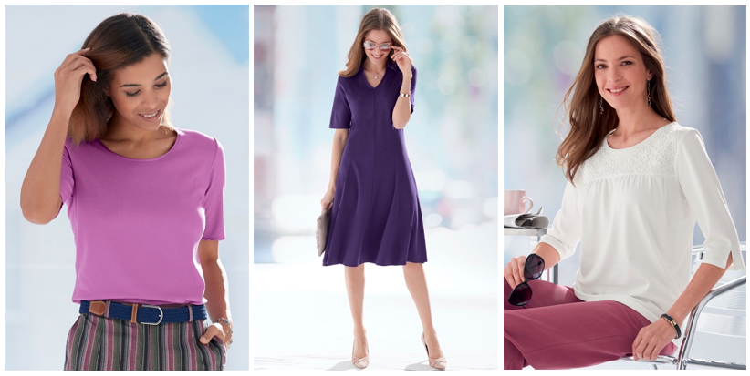 Bamboo tops and dresses for women by Patra