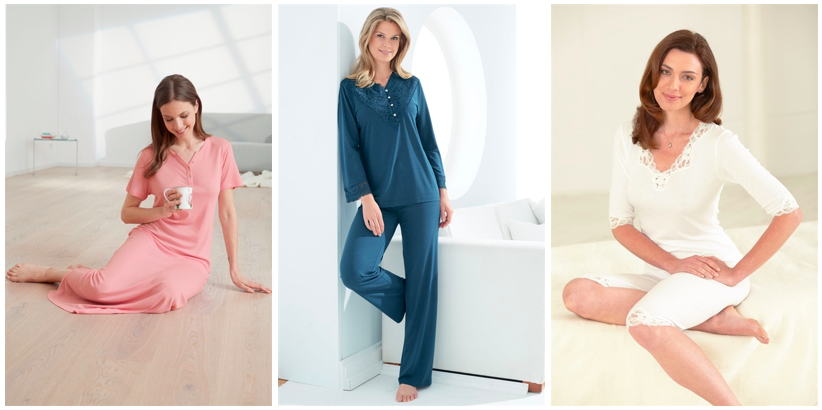Bamboo cotton nightwear for women