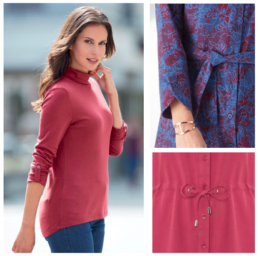 Classic women's clothing for autumn and winter