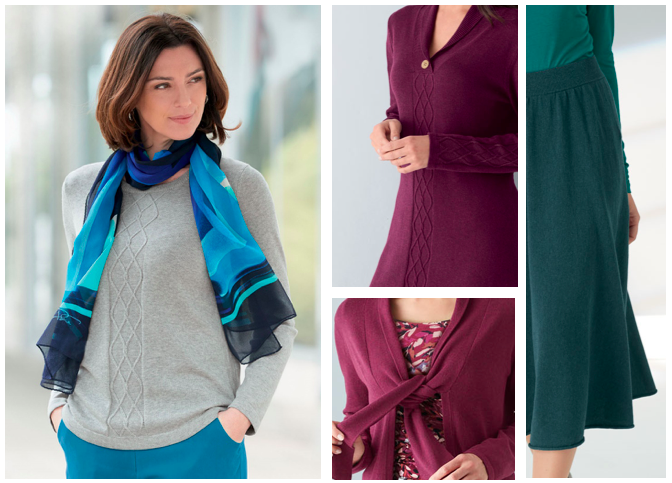 lovely women's knitwear for autumn and winter