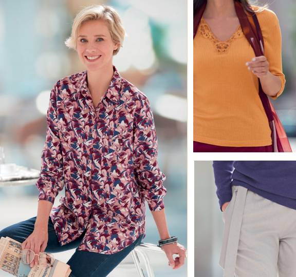 Women's clothing for autumn and winter