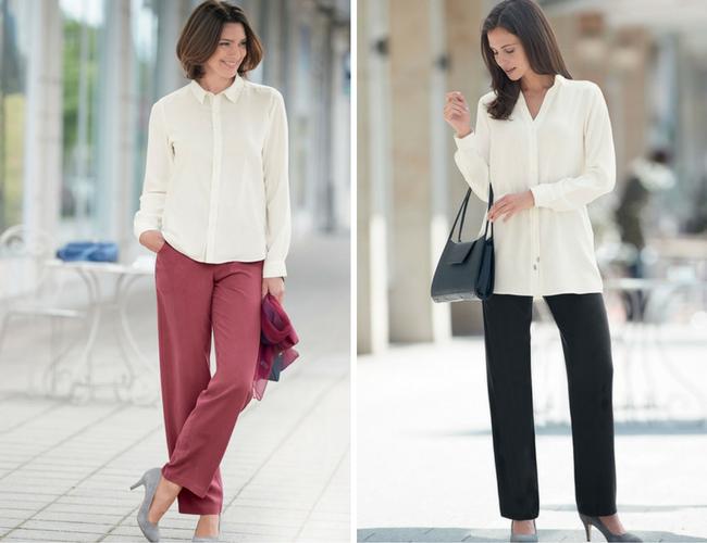 Silk Trousers for Women
