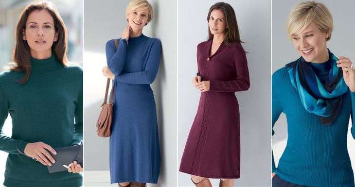 Women's winter knitwear