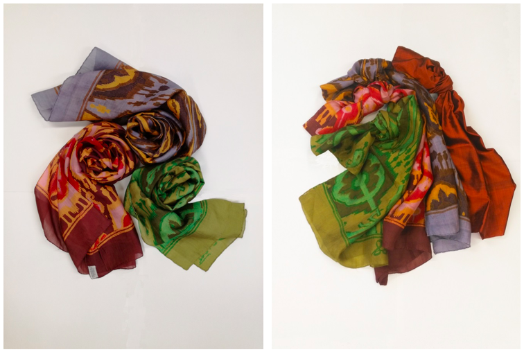 Pure Silk Scarves from Patra and their history