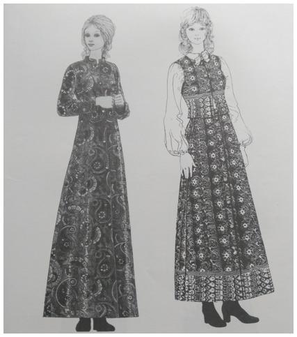 Patra's history: early dresses