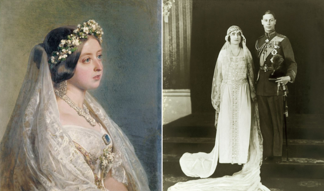Queen Victoria and the Queen Mother