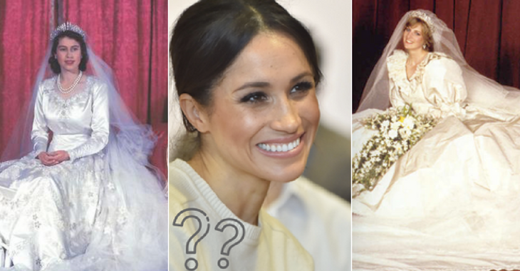 Royal wedding dresses history