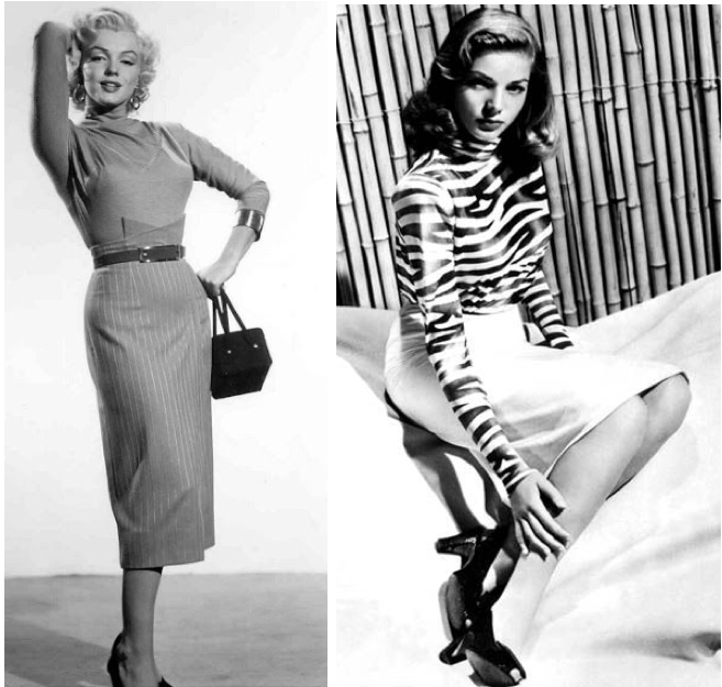 The history of the pencil skirt
