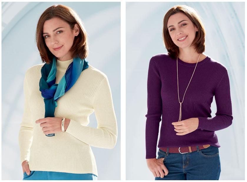 Silk knitwear
