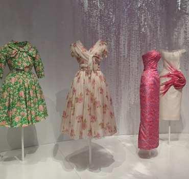 Dior's patterns and fabrics