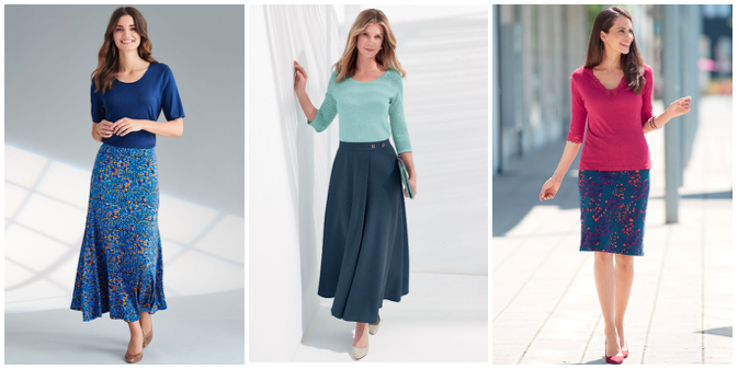 Modern elegant women's skirts by Patra