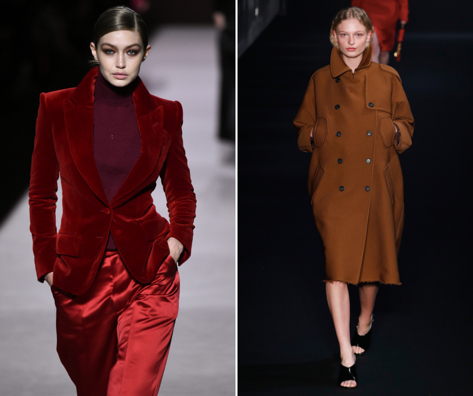 AW19 silhouettes and fabrics