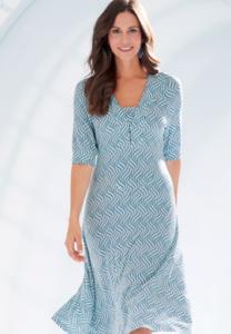 Add layers to a midi dress