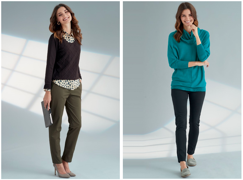 Cotton knits for autumn