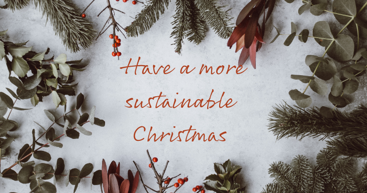have a more sustainable christmas