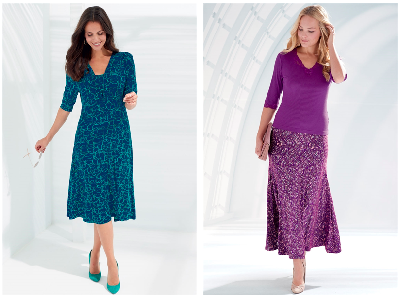 dresses and skirts for mature women