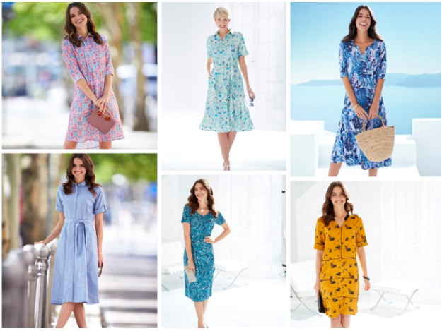 Spring Summer 2020 women's dresses