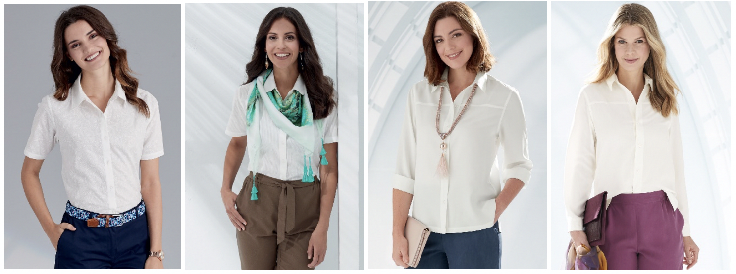 Womens workwear shirts