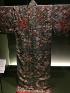 Japanese silk kimono