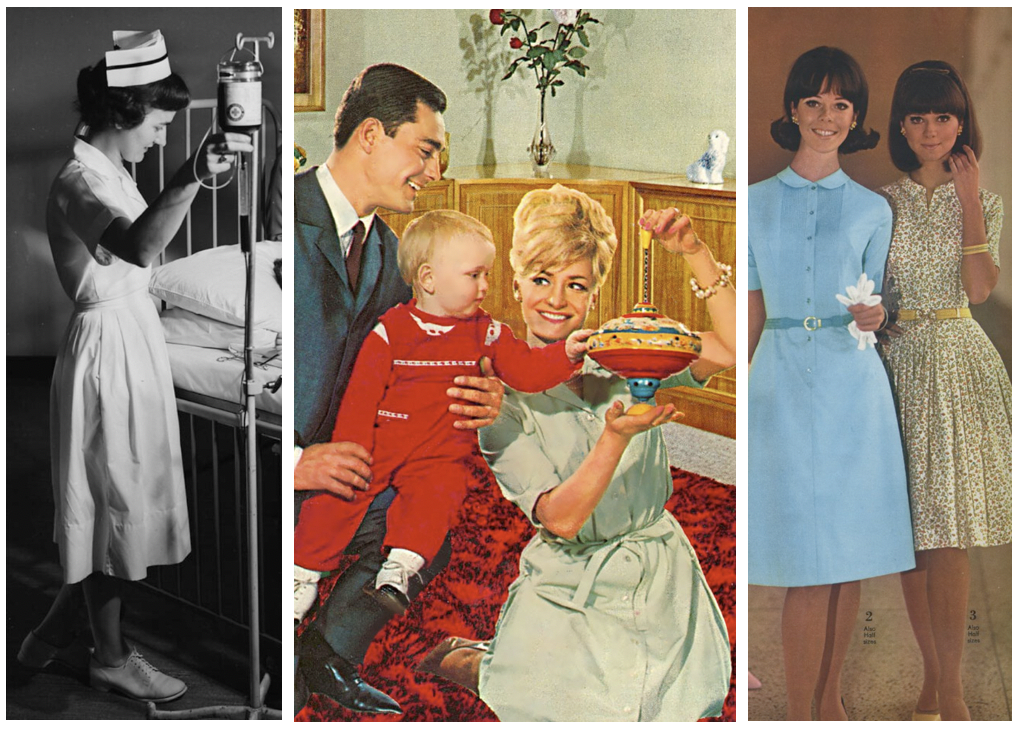 The history of the shirt dress