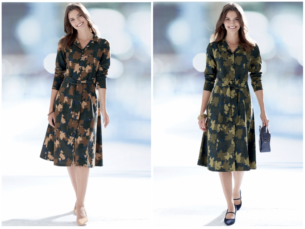 Perfect Shirt Dresses for Pear Shapes