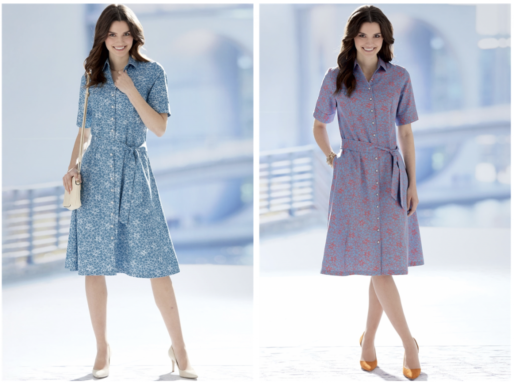 Ideal shirt dresses to suit rectangular body shapes