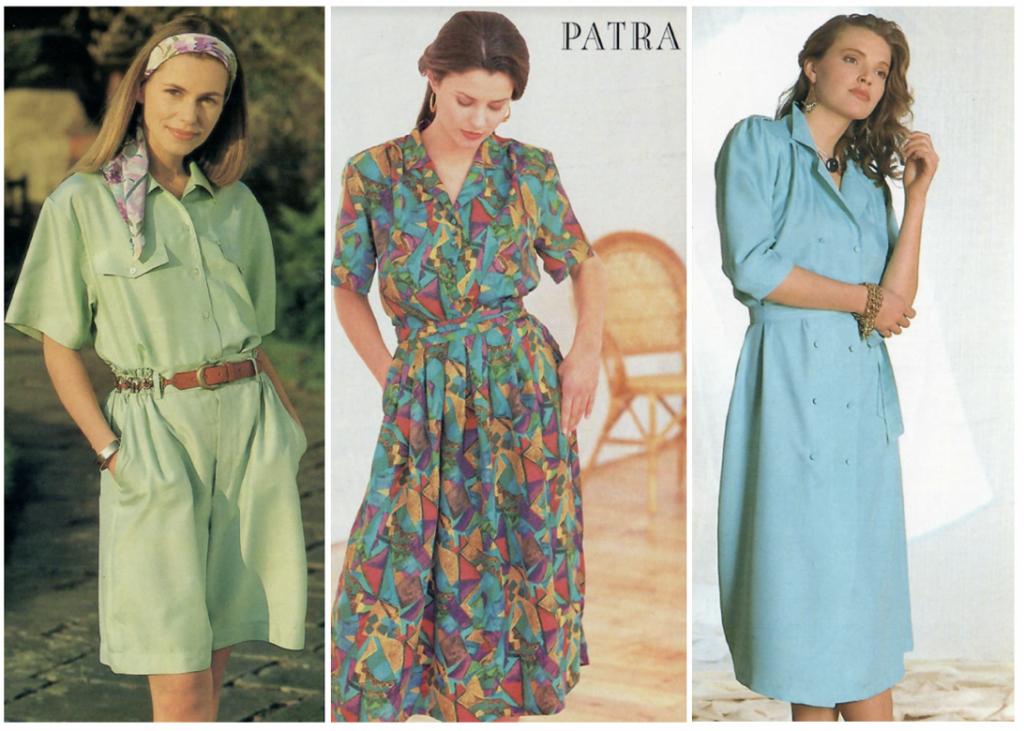 Patra Shirt Dresses Through The Ages