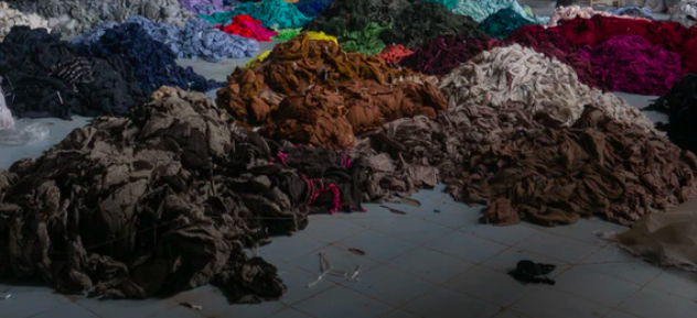 Fast fashion often ends up in landfill